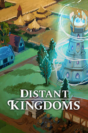 Cover for Distant Kingdoms.