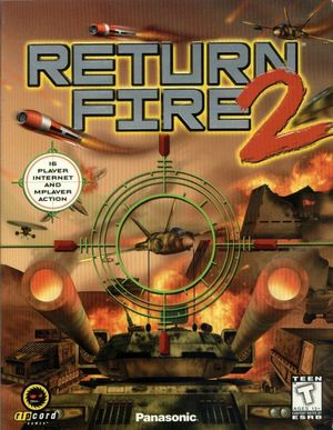 Cover for Return Fire 2.