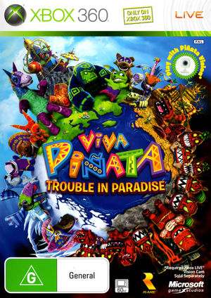 Cover for Viva Piñata: Trouble in Paradise.