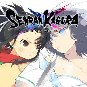 Cover for Senran Kagura Shinovi Versus.