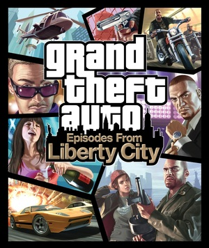 Cover for Grand Theft Auto: Episodes from Liberty City.