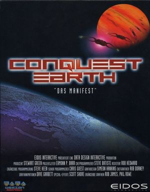 Cover for Conquest Earth.
