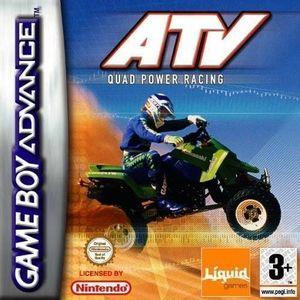Cover for ATV Quad Power Racing.