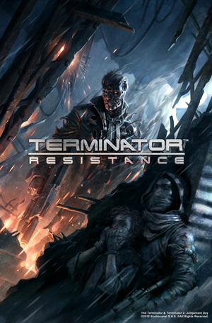 Cover for Terminator: Resistance.