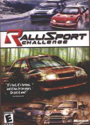 Cover for Rallisport Challenge.