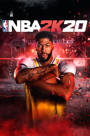 Cover for NBA 2K20.