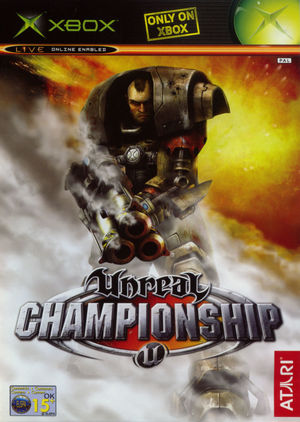 Cover for Unreal Championship.