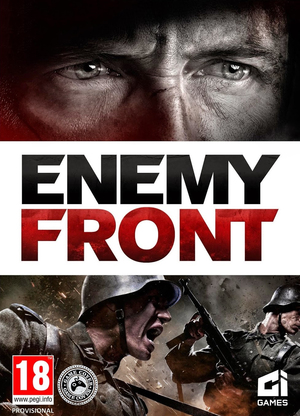 Cover for Enemy Front.