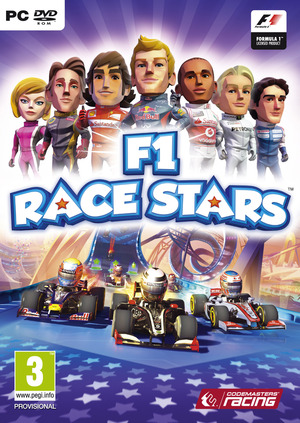 Cover for F1 Race Stars.