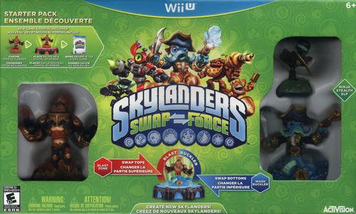 Cover for Skylanders: Swap Force.