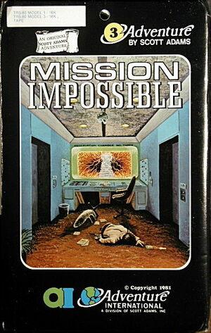 Cover for Secret Mission.
