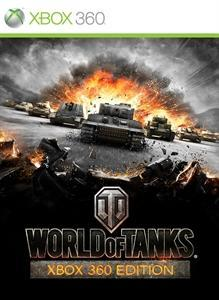 Cover for World of Tanks: Xbox 360 Edition.