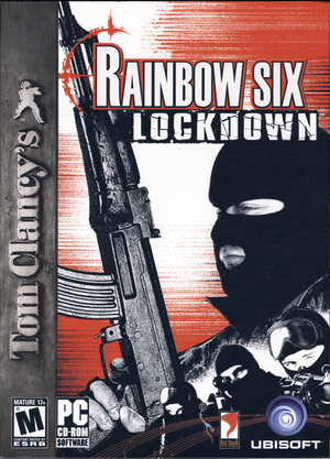 Cover for Tom Clancy's Rainbow Six: Lockdown.