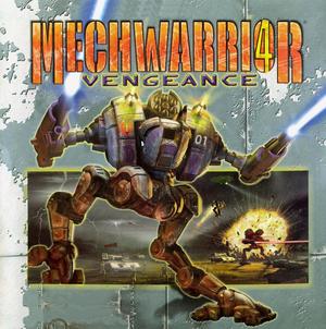 Cover for MechWarrior 4: Vengeance.