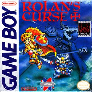 Cover for Rolan's Curse.