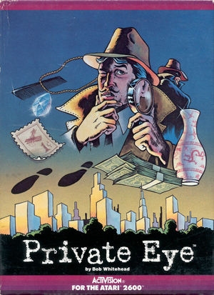 Cover for Private Eye.