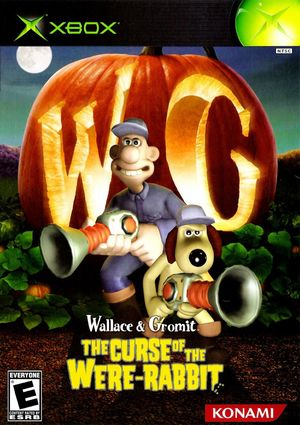 Cover for Wallace & Gromit: The Curse of the Were-Rabbit.