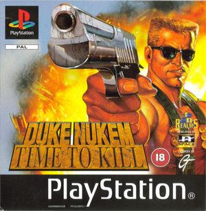 Cover for Duke Nukem: Time to Kill.