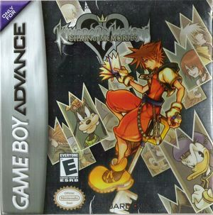 Cover for Kingdom Hearts: Chain of Memories.
