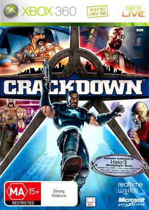 Cover for Crackdown.