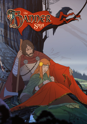 Cover for The Banner Saga.