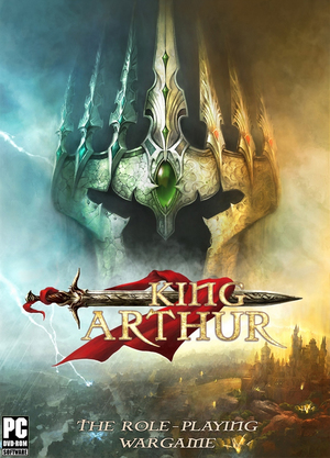 Cover for King Arthur: The Role-playing Wargame.