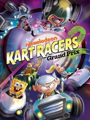 Cover for Nickelodeon Kart Racers 2: Grand Prix.