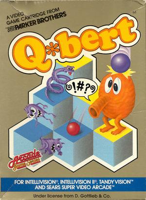 Cover for Q*bert.