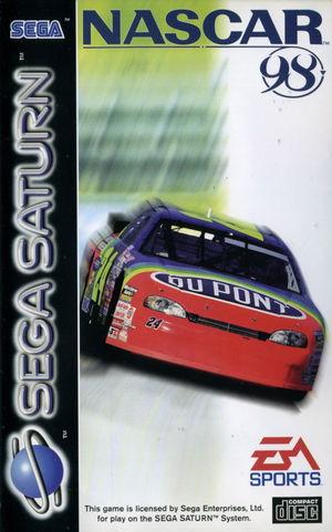 Cover for NASCAR 98.