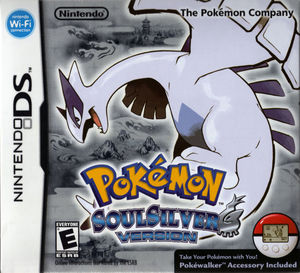 Cover for Pokémon SoulSilver.
