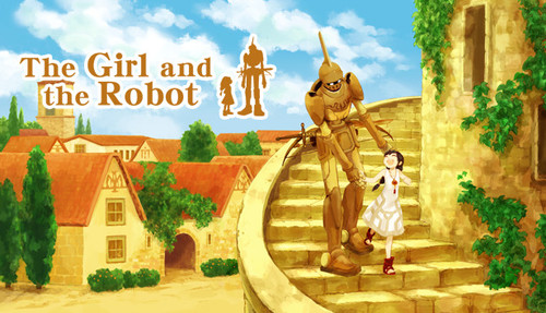Cover for The Girl and the Robot.