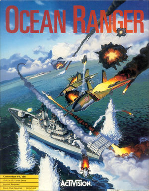 Cover for Ocean Ranger.