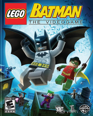 Cover for Lego Batman: The Videogame.