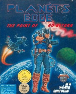 Cover for Planet's Edge.