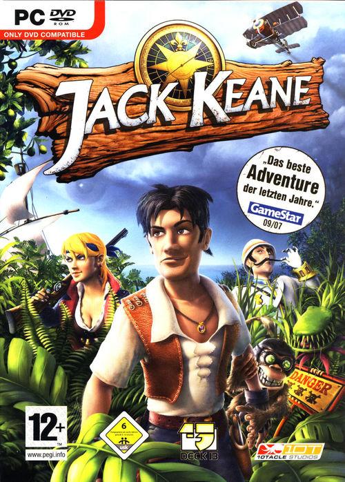 Cover for Jack Keane.