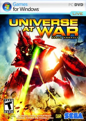 Cover for Universe at War: Earth Assault.