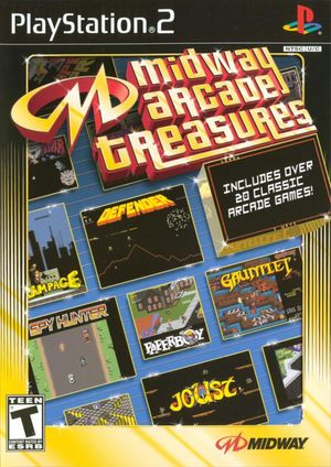 Cover for Midway Arcade Treasures.