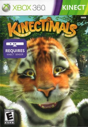 Cover for Kinectimals.