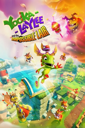 Cover for Yooka-Laylee and the Impossible Lair.