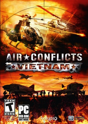 Cover for Air Conflicts: Vietnam.