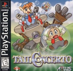 Cover for Tail Concerto.