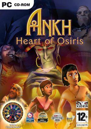 Cover for Ankh: Heart of Osiris.