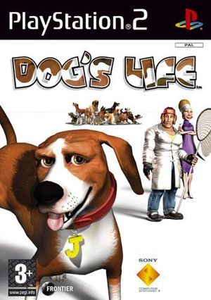 Cover for Dog's Life.