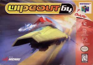 Cover for Wipeout 64.