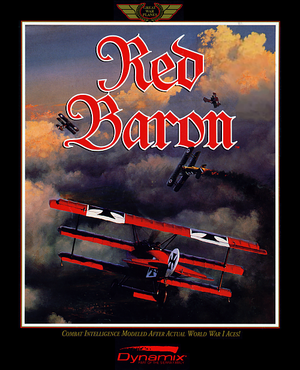 Cover for Red Baron.