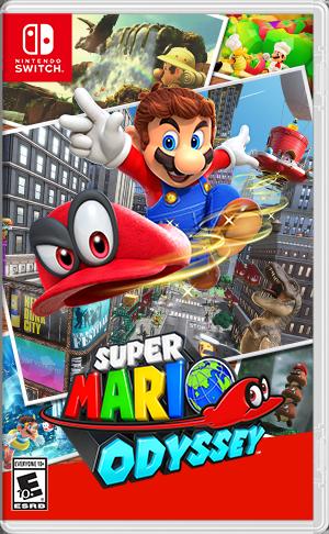 Cover for Super Mario Odyssey.