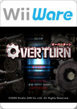 Cover for Overturn.