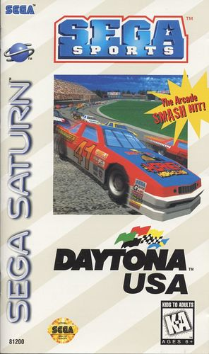 Cover for Daytona USA.