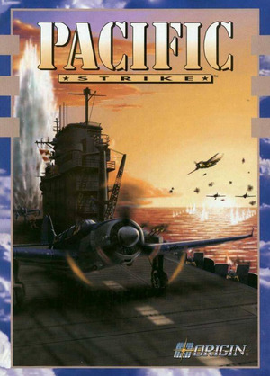 Cover for Pacific Strike.