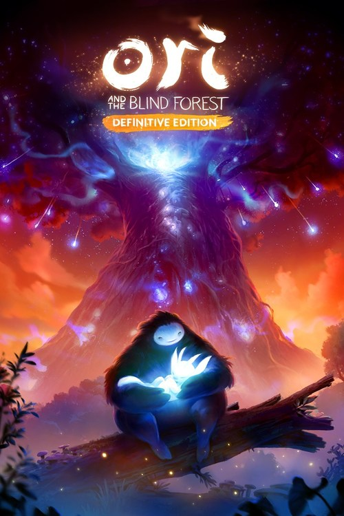 Cover for Ori and the Blind Forest: Definitive Edition.